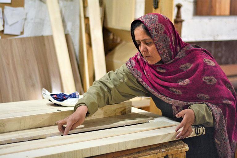 Vceela-registered female artisan