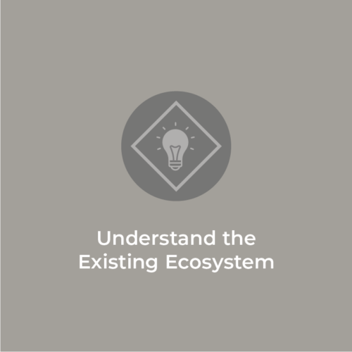 Understand the Existing Ecosystem: Stay tuned for the video release!