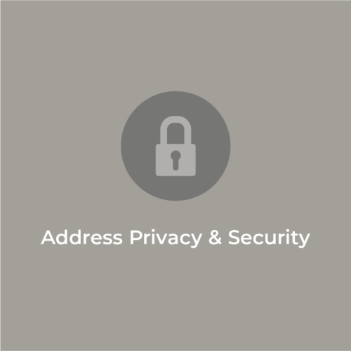 Address Privacy and Security: Stay tuned for the video release!