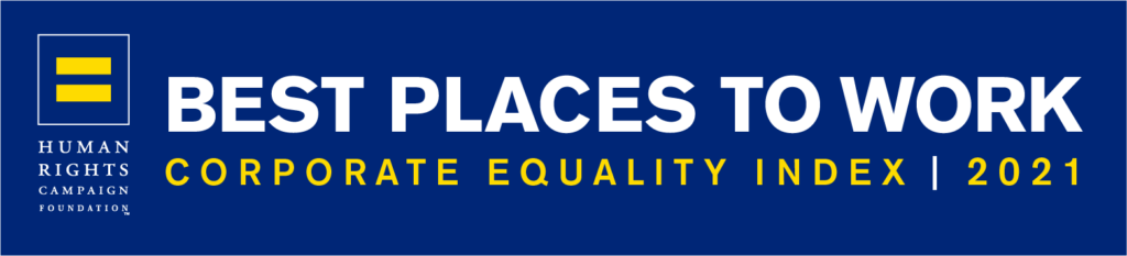 Best Places To Work - HRC Corporate Equality Index 2021