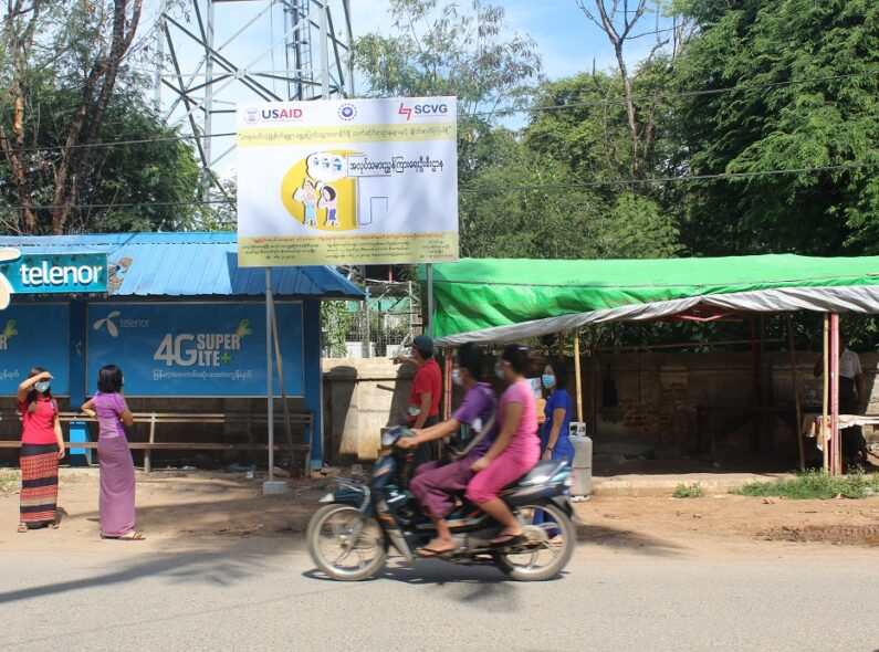 women riding on motorbike