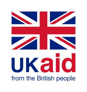 UK aid logo with strapline