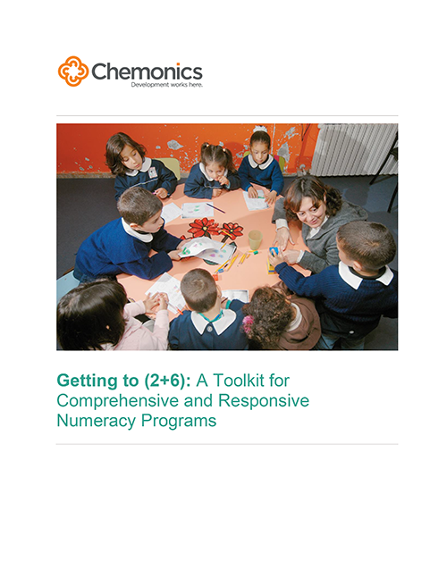 cover of toolkit w/photo of children in a classroom around a table