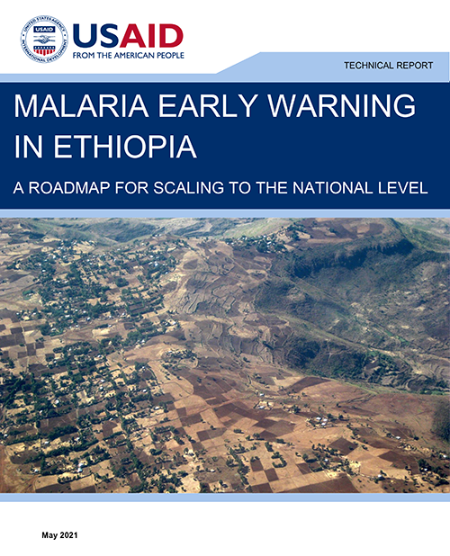 Cover of report showing Rural landscape in the Amhara region of Ethiopia